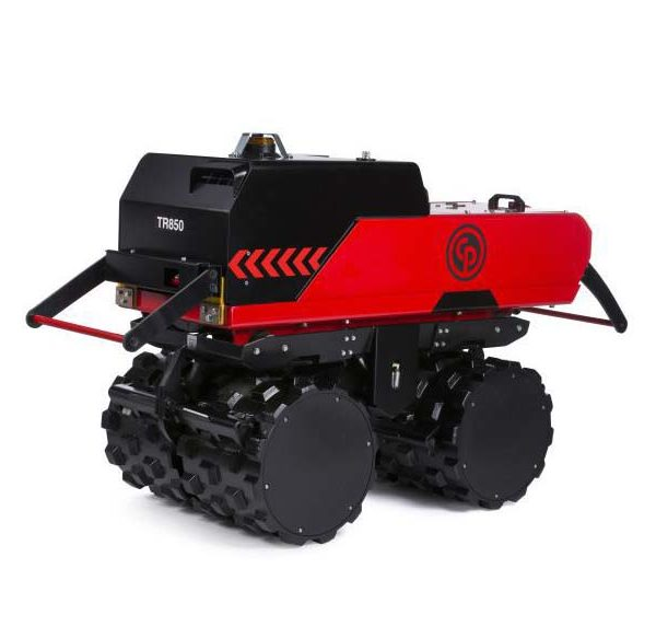 light compaction, trench roller, compacting, chicago pneumatic