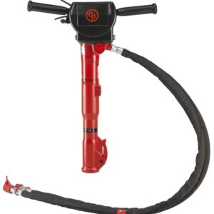 Hydraulic breaker with vibro-reduced handle