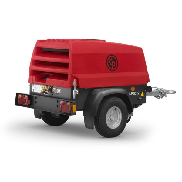 CPS Portable Compressor - Pack Rear view  job 2510