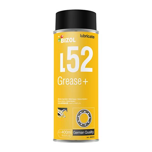 Спрей-смазка белая - BIZOL BIZOL Grease+ L52 0,4л